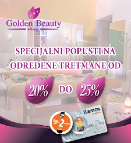 Novo u Golden Beauty Shopu!!!